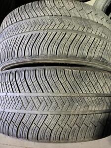 2 winter tires Michelin latitude alpin 265/45r20