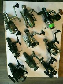 Selection of fishing reels. All.work