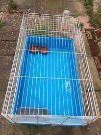 Ferplast large indoor rabbit guinea pig cage