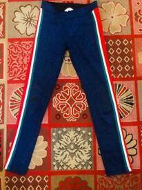 Set shirt blouse and leggings 7/8 years for girl