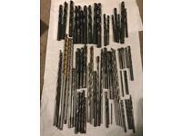 Job lot of drill bits