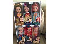 brand new dolls for sale joblot bulk 6 in a box £20