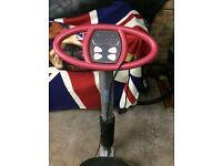 Power plate in excellent condition.