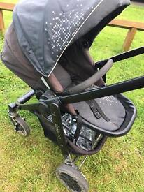 Graco evo with accessories