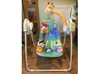 Fisher Price Discover and Grow Take Along Baby Swing