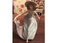 Lladro lady figurines