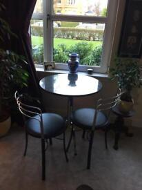 John Lewis bistro table and chairs