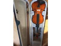 Violin & case brand new