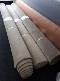 Carpet roll ends