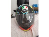 AGV K-3 Valentino Rossi Helmet- Size Large- Used but in good condition