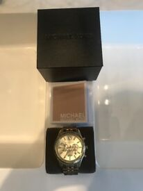 Men's authentic GOLD michael kors watch