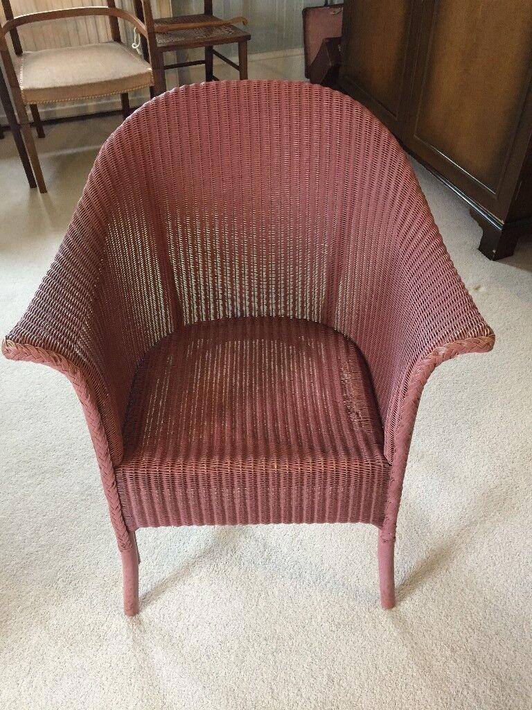 Vintage Lloyd Loom Chair In Norwich Norfolk Gumtree