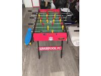 Kids Liverpool FC football table in need of tlc