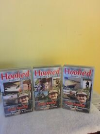 """ Hooked on Fishing""-Series 2 VHS video tapes"