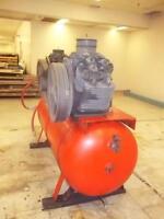 DeVilbiss model 445 twin pump air compressor