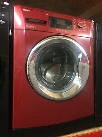 RED 9KG BEKO WASHING MACHINE