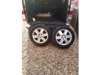 4x Alloy wheels for Vito Mercedes Van