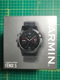 Garmin Fenix 5 watch multisport GPS outdoor heart rate