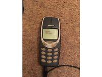 Original Nokia 3310 mobile phone