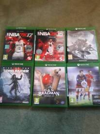 Xbox 1 game bundle