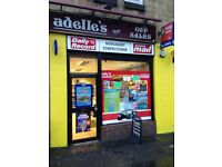 A very profitable Off licence convenience store for sale
