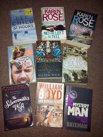Large size paperbacks £1 each