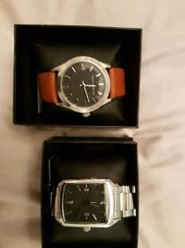 2x french connection dress watches