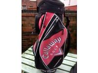 Callaway Big Bertha golf bag with rain hood.