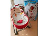 Tiny love 3 in 1 rocker napper in red