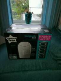 Tommee tippee bin and refills new