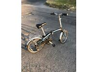 Ammaco Light weight Folding Bike. Serviced, Great Condition. Free Lock, Lights,