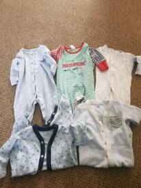 Upto 1month sleep suits