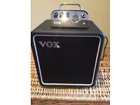 VOX MV50 AC mini amp and matching BC108 speaker cab
