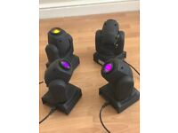 Disco Moving Head LED lighting package -- 12 lights plus MORE!!!