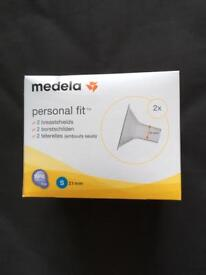 New - in box Medela breast shields for electric pump