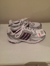New, size 4.5, Adidas running shoes