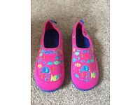 Girls beach shoes. Size 9 brand new.