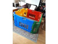 Large sturdy colourful play pen. Suitable for indoor and outdoor use. Excellent condition, £45