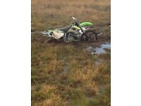 Crf 250 and a kx250 1000 each