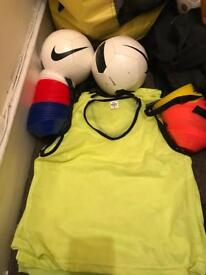 Junior football equipment