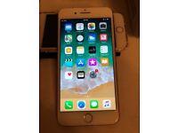 IPhone 6s Plus Rose gold 64gb unlocked like new