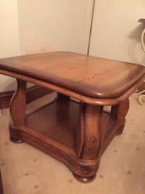 Beautiful Solid Oak Side Table