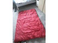 Coleman double sleeping bag