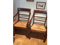 Wooden Chair with Arms - Great Shape -Must be seen feel free to view £80 each or 2 for £140