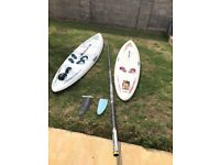 2x mistral windsurf boards