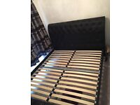 SuperKing bed frame luxury - nearly new