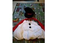 Frosty the snowman kids costume