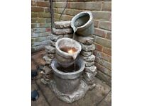 Water fountain - stone effect