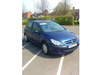 Peugeot 307 spares and repairs £350 ONO MOT Feb 2019