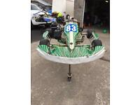 125 two stroke senior max go kart